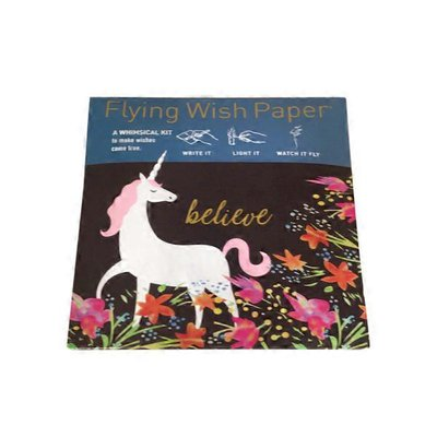 Flying Wish Paper Mini Good Fortune Write It, Light It & Watch It Fly Paper Kit