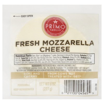 Signature Kitchens Mozzarella Fresh Cheese