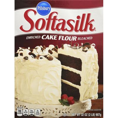 Pillsbury Cake Flour, Enriched, Bleached