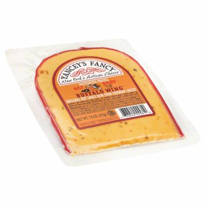 Yancey's Fancy Cheese, Pasteurized Process, Cheddar, Hot Stuff Buffalo Wing
