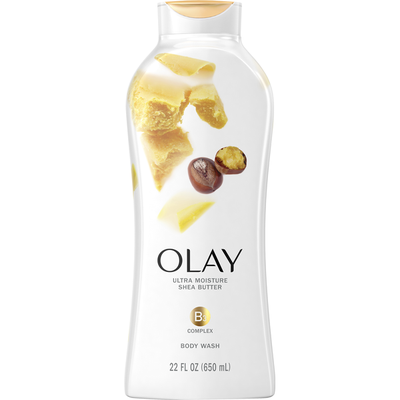OLAY Body Wash With Shea Butter