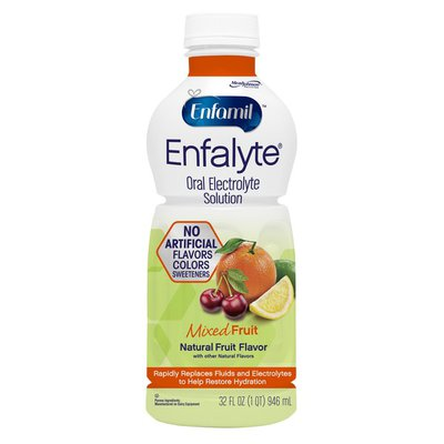 Ifcn Enfalyte Oral Electrolyte Hydration Solution - Natural Mixed Fruit Flavor