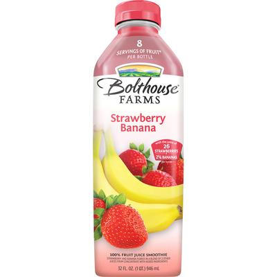 Bolthouse Farms Strawberry Banana 100% Fruit Juice Smoothie