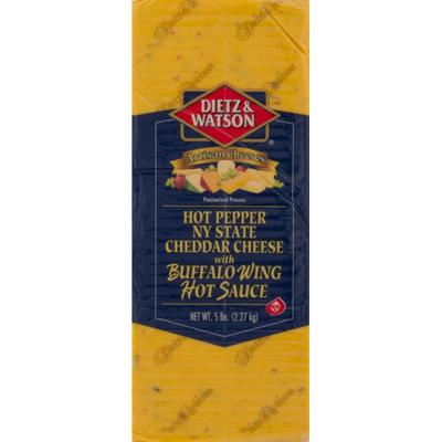 Dietz & Watson Buffalo Wing Cheddar Cheese