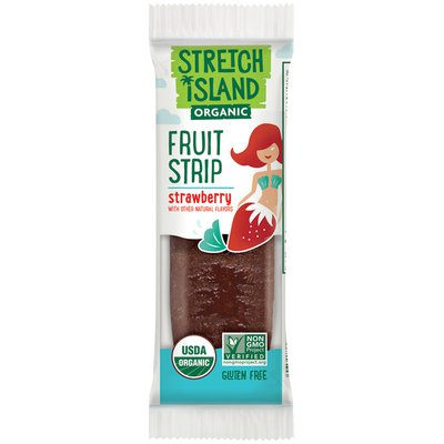 Stretch Island Fruit Co. Strawberry Organic Fruit Strip