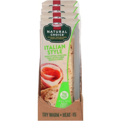 Hormel Natural Choice Italian Style Wrapped in a Flatbread