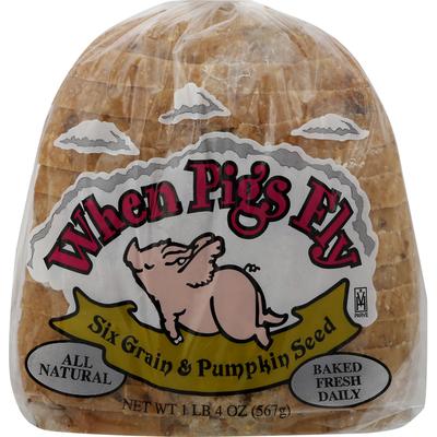 When Pigs Fly Bread, Six Grain & Pumpkin Seed