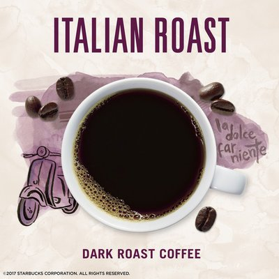 Starbucks VIA Instant Coffee Dark Roast Packets — Italian Roast