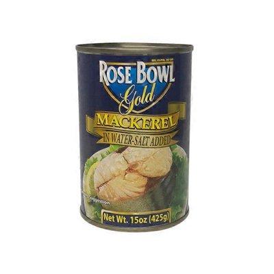 Rosebowl Mackerel In Natural Oil