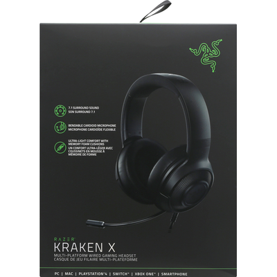 Razer Gaming Headset, Kraken X