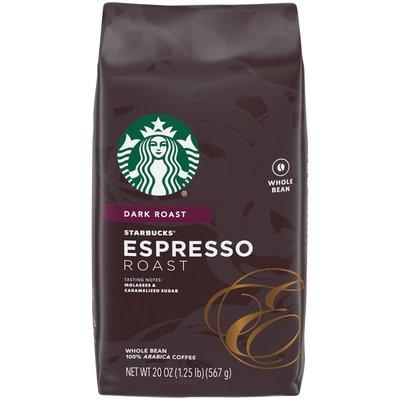 Starbucks Dark Roast Whole Bean Coffee — Espresso Roast