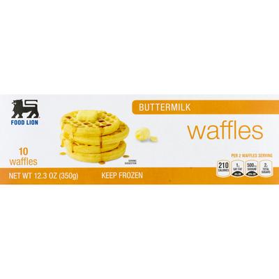 Food Lion Waffles, Buttermilk