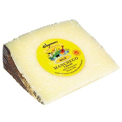 Wegmans Aged 3 Months Manchego Cheese, Mild