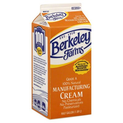 Berkeley Farms Manufacturing Cream