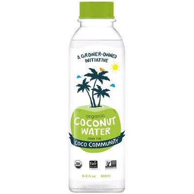 Coco Community Coconut Water, Organic
