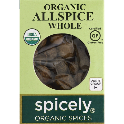 Spicely Allspice, Whole, Organic