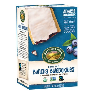 Nature's Path Organic Frosted Buncha Blueberries Toaster Pastries