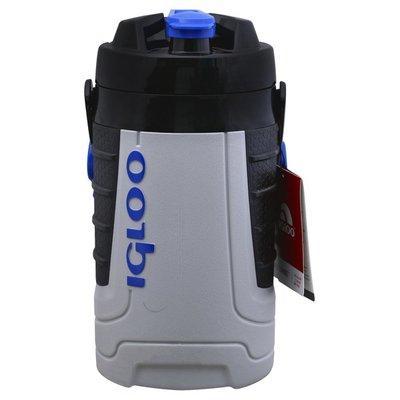 Igloo Beverage Cooler, Ash Gray/Maj Blue, 2 Quart