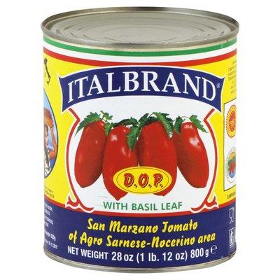 Italbrand Tomatoes, with Basil Leaf