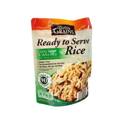 Earthly Grains Long Grain and Wild Rice