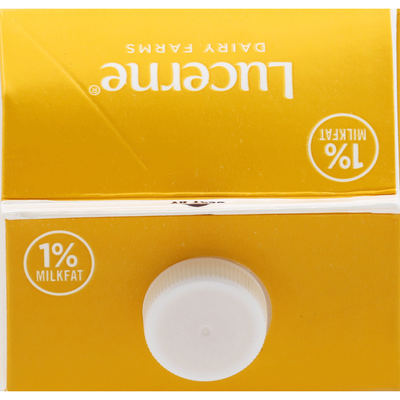 Lucerne Milk, Lowfat, Lactose Free, 1% Milkfat