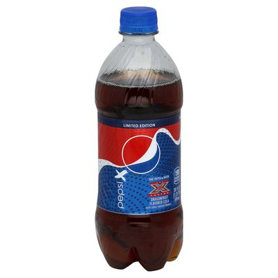 Pepsi Cola, with The X Factor Dragonfruit Flavored