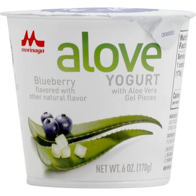 Mori-Nu Yogurt, Blueberry, with Aloe Vera Gel Pieces, Japanese Style