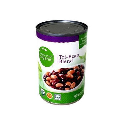 Simple Truth Organic Tri-bean Blend A Mix Of Kidney, Pinto And Black Beans