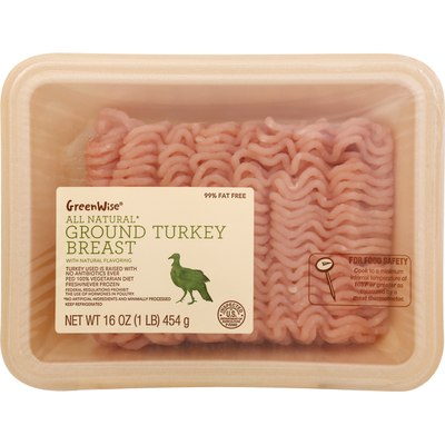 GreenWise Turkey, Breast, Ground