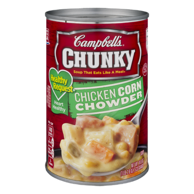 Campbell's® Chunky® Healthy Request® Chicken Corn Chowder