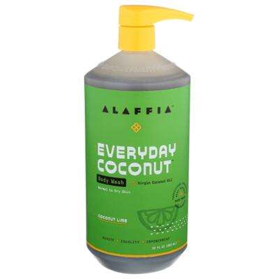 Alaffia EveryDay Coconut  Body Wash,  Coconut Lime