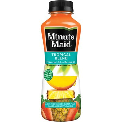 Minute Maid Tropical Blend, Fruit And Vegetable Juice Drink