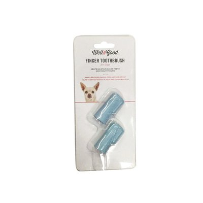 Well & Good Soft Finger Toothbrush For Dogs