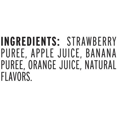 Naked Pure Fruit Strawberry Banana Juice Smoothie