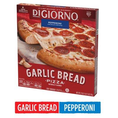 DiGiorno Pepperoni Garlic Bread Frozen Pizza