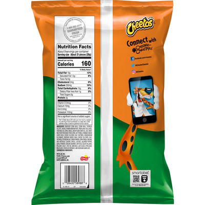 CHEETOS Jalapeno Cheddar Cheese Flavored Snacks