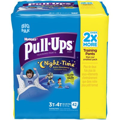Pull-Ups Night Time for Boys 3T-4T Training Pants
