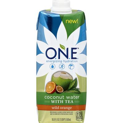 ONE O.N.E Coconut Water With Tea Wild Orange