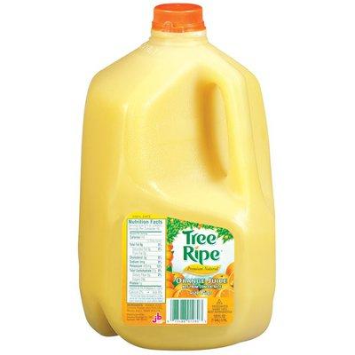 Tree Ripe Premium Natural W/Pulp Orange Juice