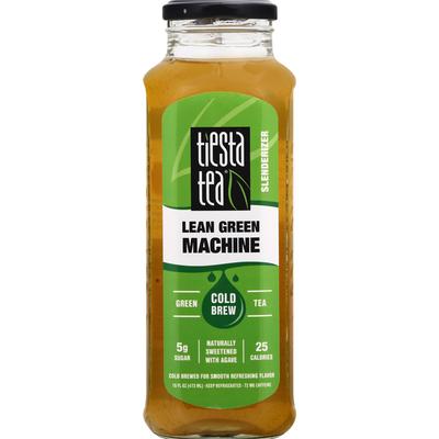 Tiesta Tea Green Tea, Lean Green Machine, Cold Brew