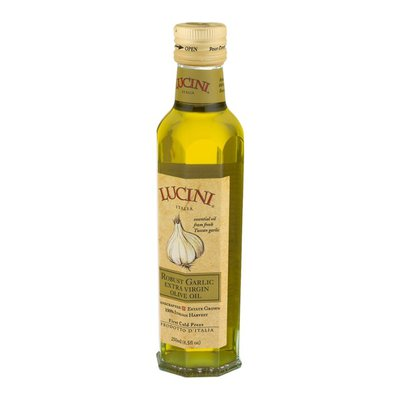Lucini Italia Olive Oil, Extra Virgin, Robust Garlic