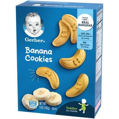 Gerber Banana Cookies
