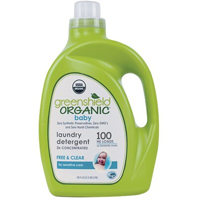 Go By Greenshield Free & Clear Organic Baby Laundry Detergent