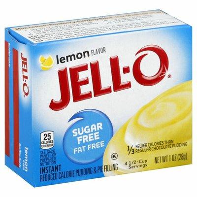 Jell-O Instant Lemon Sugar Free Fat Free Pudding & Pie Filling Mix
