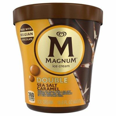Magnum Ice Cream Tub Double Sea Salt Caramel