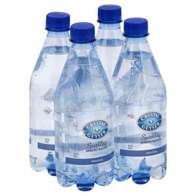 Crystal Geyser Alpine Spring Water Water, Spring, Sparkling, Original