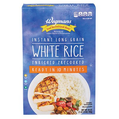 Wegmans Food You Feel Good About Instant Rice