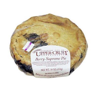 Upper Crust Berry Supreme Pie