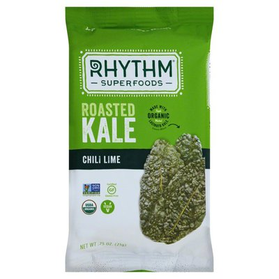 Rhythm Superfoods Kale, Chili Lime, Roasted