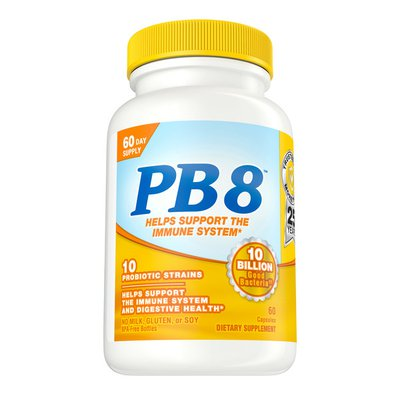 Nutrition Now Pb8™ Probiotic Immune System And Digestive Support* Supplement For Men And Women, 60 Count